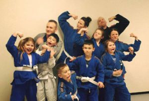 44 fitness and martial arts jiu-jitsu group shot